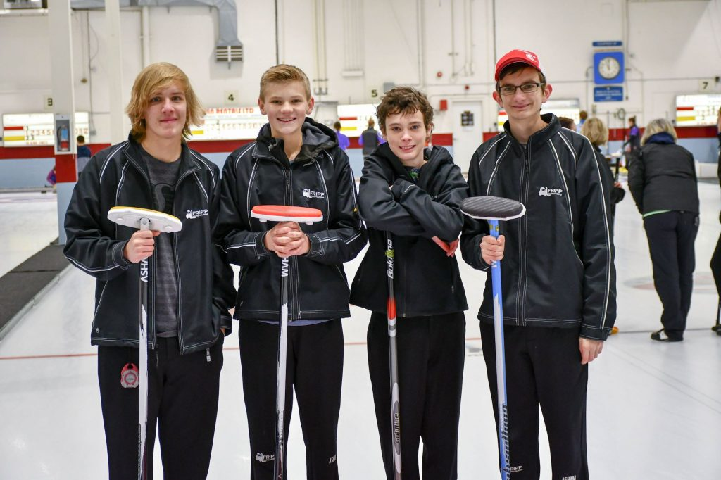 Curling Team 2018 Fripp Warehousing Kelowna